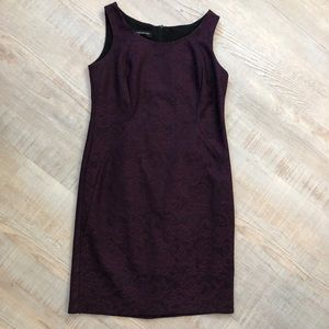 Jones New York Purple lace dress